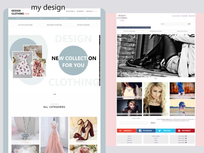 redesigned website dailyui web ui design
