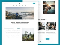 blog post web design dailyui web ux ui design