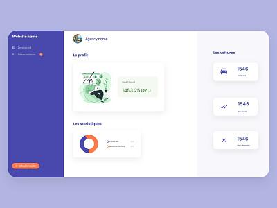 Dashboard web design web ui ux design