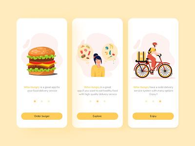 onboarding food delivery app screens food food delivery app onboarding food delivery app ui design ux design ux ui design