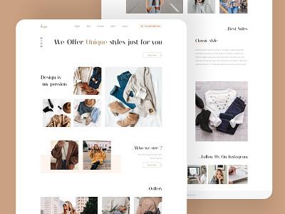 ecommeche shop ecommece web ux design ui