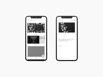 k33p going app concept notes ux app design ui
