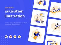 Erika - Education Illustration Kit