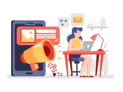 Call Center Service Illustration concept work graphic growth app artwork ai office success startup business corporate phone 247 online support supporter support helpdesk call center illustration