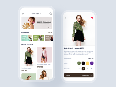 E-commerce mobile app UI concept material ui kit interface discount sale shopping cart delivery order shopping store shop e-commerce app mobile uikit ux ui