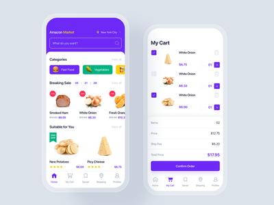 E-commerce mobile app UI concept ui kit interface material discount sale shopping cart delivery order shopping store shop e-commerce app mobile uikit ux ui