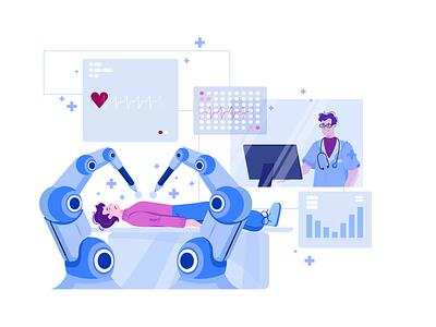 Artificial Intelligence Illustration Concept artificial intelligence