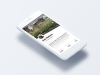 Profile screen for Mocha UI Kit