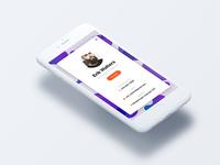 Profile screens for Mocha UI Kit