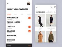 Shopping UI Concept for Mocha UI Kit