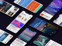 Social Mobile UI Concept