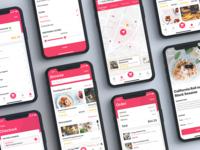 Foody - Food Ordering & Delivery App UI Kit