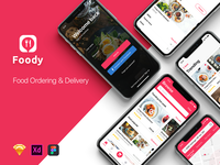 Foody Mobile UI Kit