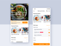 Restaurant Detail UI Concept for Food App