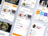 Food Delivery App concept