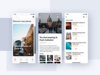 [Freebies] Travel Booking mobile app UI Kit
