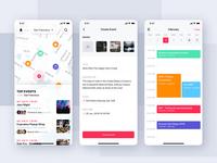 Jazam - Social mobile app UI Kit