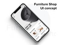 Furniture Shop UI Concept