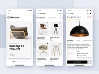Loza Shop App UI Kit