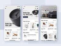 Loza - Furniture Shop App UI Kit