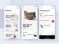 Furniture Shop mobile concept