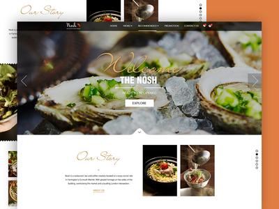 Food Restaurant Landing Page