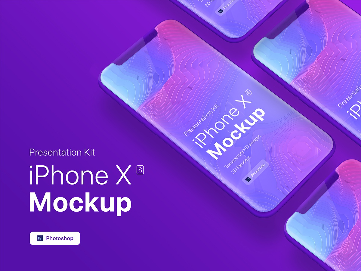 [FREE PSD] iPhone XS app mobile showcase Mock-Up psd phone responsivei website showcase screens retina hero display screen mockup