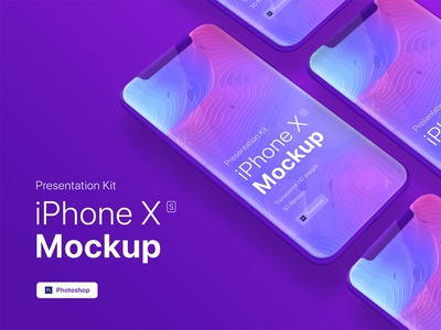 [FREE PSD] iPhone XS app mobile showcase Mock-Up psd phone responsivei website showcase screens retina hero display screen mockup