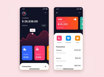 Bank App UI Kit Template