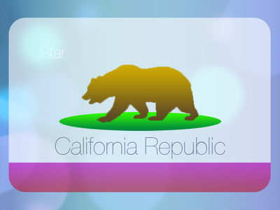 Jony Ive redesigns the California flag