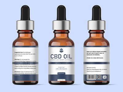 CBD OIL simple minimalist premium cbd oil supplement premium design design packaging design label design labeldesign