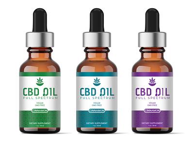 PREMIUM CBD OIL LABEL DESIGN illustration minimalist premium cbd oil supplement premium design design packaging design label design labeldesign
