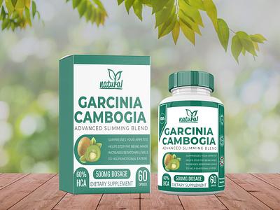 supplement label clean box design premium supplement label cbd oil premium design design supplement packaging design label design labeldesign