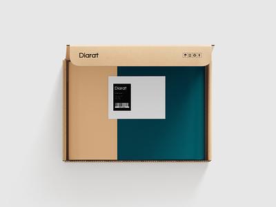 Diarat Brand identity furniture stores furniture design decor brand identity visual identity branding and identity logo logotype logo design branding design branding brand design