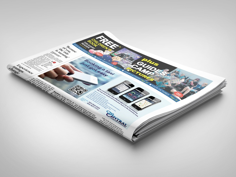 Newspaper Display Mockup agency article casual clean company corporate cover easy to use elegant front page gossip headline high resolution identity layout magazine mock-up mockup modern news newsletter newspaper object paper presentation press smart object