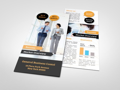 corporate rack card template
