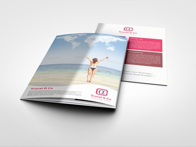 Travel Agency Tourism Tri Fold Brochure Template By Idesignstudio
