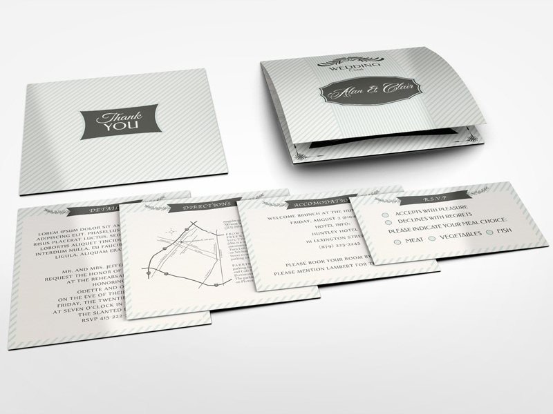 Pocket wedding invitation card mockup by idesignstudio dribbble stopboris Image collections