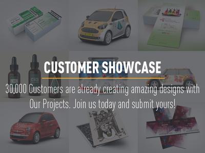 Customers Designs Showcase contest publication idesignstudio display project customer design showcase