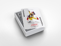 Bridge Playing Cards Mockup