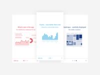 Investing App Teaser Screens