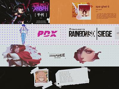 Compilation - Part 3 amv anime graphic design