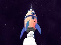 Deep-Space-Rocket