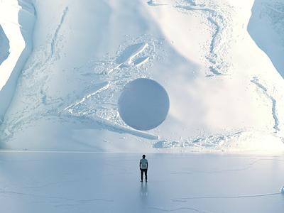 Shadow orb c4d 3ddesign 3drender animation 3danimation 3dsmax scale snow render 3d shadows lighting octanerender octane cinema4dart cinema4d
