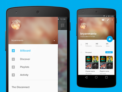 android l mockups - Mockups For Android