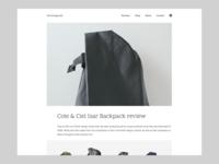 minimalgoods redesign