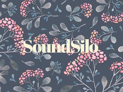 SoundSilo logo header ux ui leaves leaf sound flowers