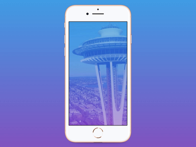 Space Needle background
