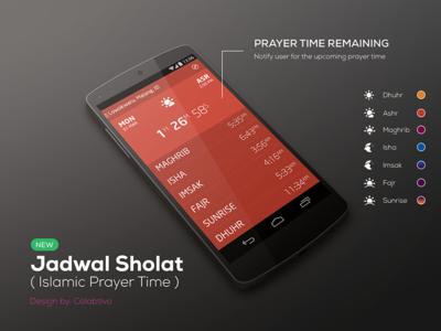 Jadwal Sholat - Islamic Prayer Time (Concept)