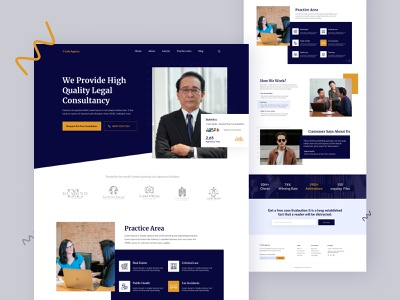 YLink Agency - Law Firm Landing Page law firm law office